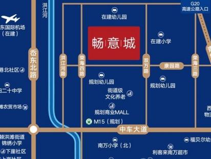 青铁畅意城区位图