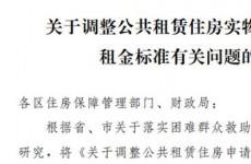 青岛公租房第一档租金条件放宽 纳入低保特困人员