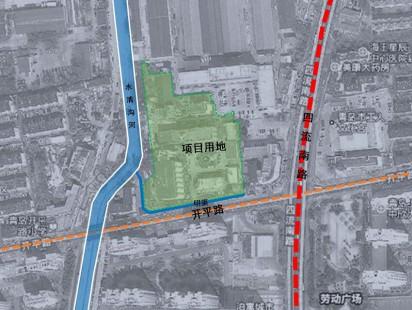 绿城和锦诚园区位图