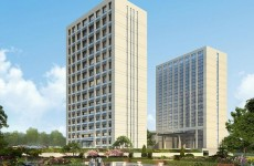 威海弘远国际规划公布 共两栋建筑为办公和酒店